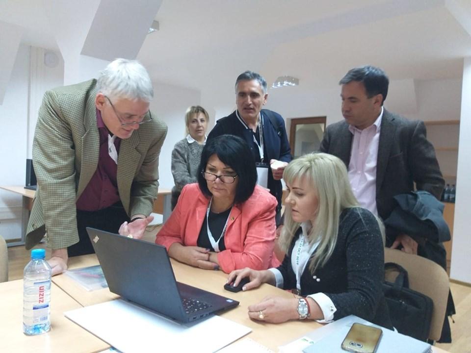 Команда TOPAS-СНАУ прийняла участь у робочій зустрічі проекту на базі Університеті сільськогосподарських наук та ветеринарної медицини Iasi (UASVM, Румунія)