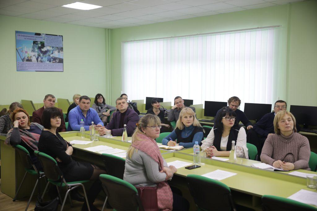 Відбулося обговорення ОП «Економіка і організація місцевого розвитку» зі стейкхолдерами, ініційованого кафедрою економіки та підприємництва